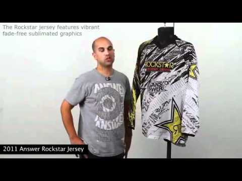 Answer Racing Rockstar Vented Jersey