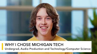 My Michigan Tech: Drew Stockero
