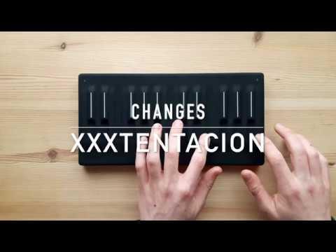 Changes - XXXTENTACION (Seaboard Block / Garageband)