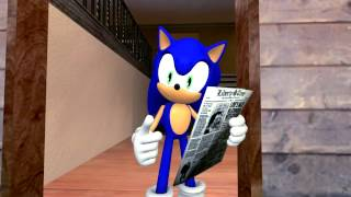 Lost clip - Sonic in The Birds