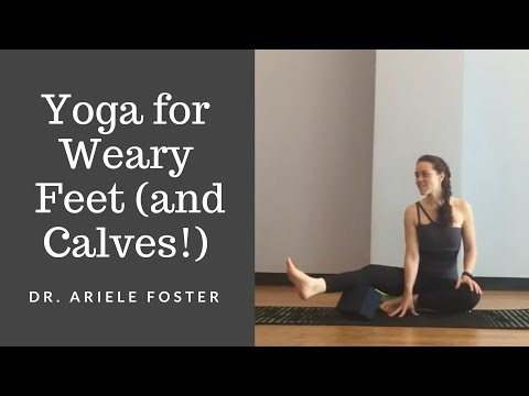 Yoga Paws: Therapeutics for Feet and Calves -- (Nearly) Full Class (35 minutes)