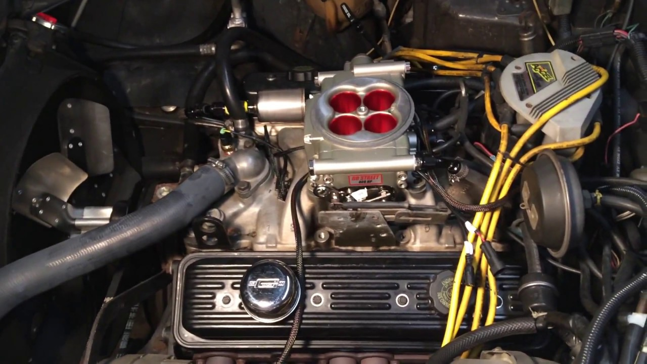 Fitech EFI Installed on a 1978 Corvette 350
