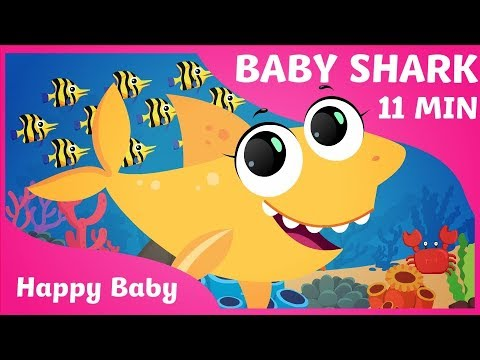 Baby Shark  | Nursery Rhyme With Lyrics - Cartoon Animation Rhymes & Songs For Children