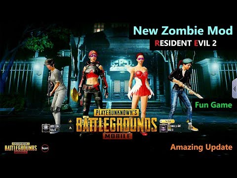 [Hindi] PUBG Mobile | New Zombie Mod RESIDENT EVIL 2 Update