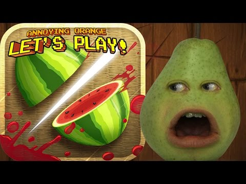 Pear Plays - FRUIT NINJA!