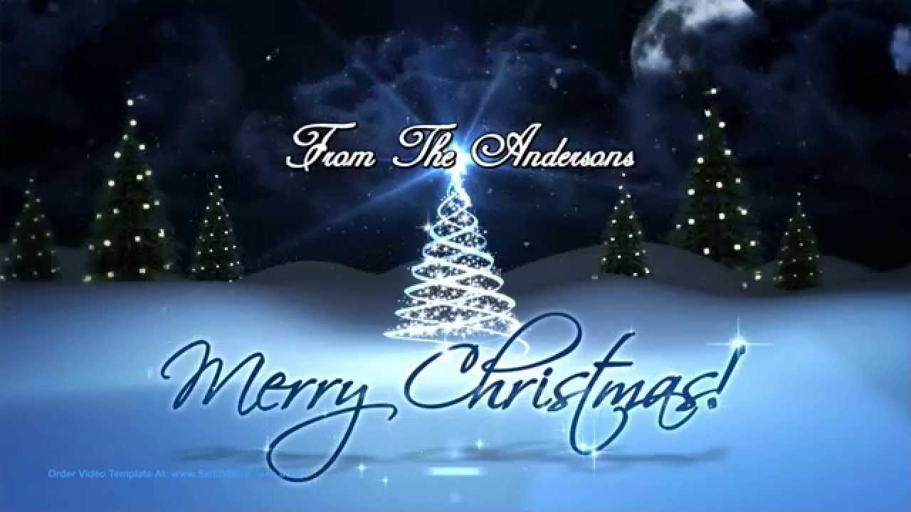 Create Magical Christmas Holiday Greetings With Low Cost Video