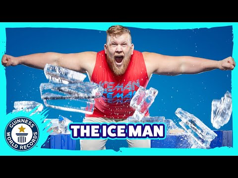 Ultimate Ice Breaker: Most blocks of ice smashed in one minute - Guinness World Records Italian Show