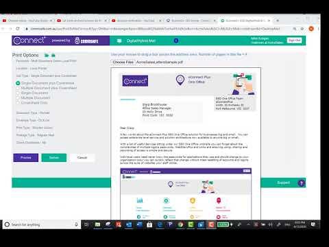 eConnect Plus - Digital Hybrid Mail App