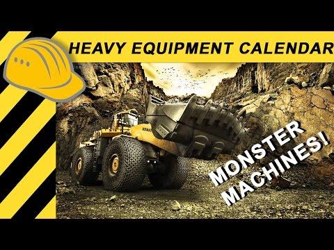 MONSTER MACHINES MINING: KOMATSU WA1200 LOADER, HITACHI EX 3600-6 & EH 3500 EQUIPMENT Doku [EN]