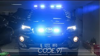 Toyota Fortuner VRZ TRD w/ Whelen Justice, HHS2200, SA314A,  SA40 Lopro, Feniex Fusion - by Code.91