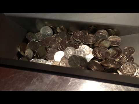 Bankwest Morley Coin Counting Machine