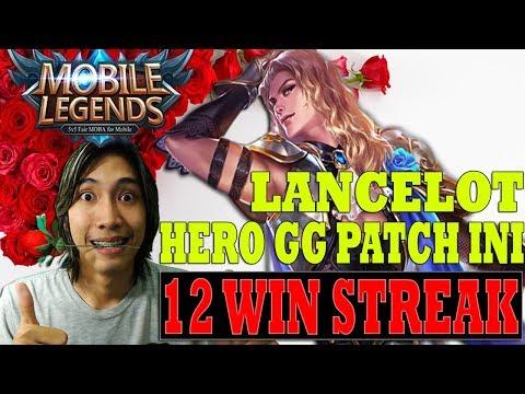 LANCELOT OP HERO 12 WIN STREAK #18 - Mobile Legends