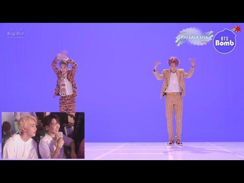 [RUS SUB][Рус.саб] [BANGTAN BOMB] Танцевальная битва во время съёмок клипа 'IDOL'  - BTS (방탄소년단)