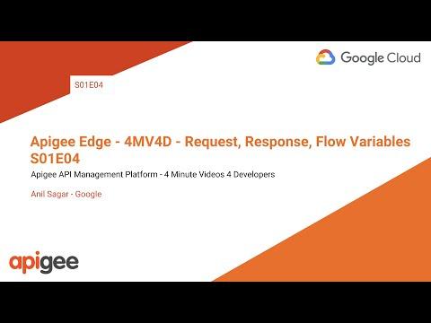 Apigee- 4MV4D - Request, Response, Flow Variables - S01E04