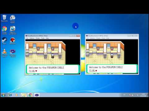 How To Trade Pokemon With Yourself GBA Emulator
