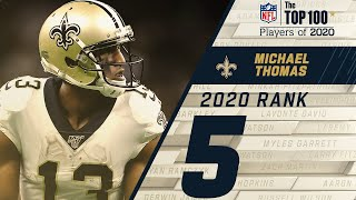 #5 Michael Thomas (WR, Saints) | Top 100 NFL Players of 2020