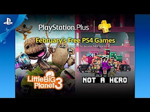 PlayStation Plus Free PS4 Games Lineup February 2017 - YouTube