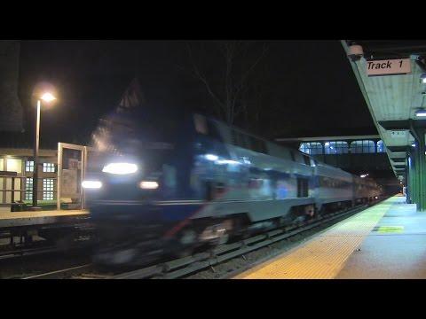 MNR Holiday Train @ Scarsdale (Harlem Line)
