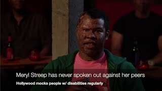 Hollywood Mocks the Disabled Often & Trump Never Did! (...comedian K-von exposes the hypocrites)