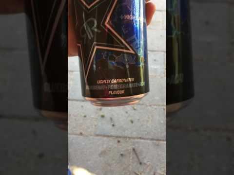 Rockstar Endurance Energy Drink Testi