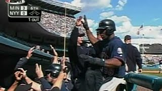 2003 ALDS Gm1: Twins score two on Yankees' errors