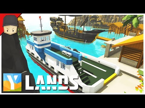 YLANDS - CAR FERRY! : Ep.35 (Survival/Crafting/Exploration/Sandbox Game)