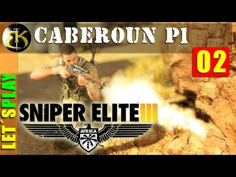 ep2 Caberoun parte 1 ► SNIPER ELITE III ► lets play gameplay español