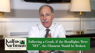 How We Proved Headlights Were Off In An Accident Case – VA Injury Attorney Richard Aufenger