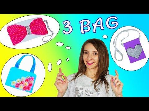 DIY craftsHow to make bag3 diy bag tutorialJulia DIY
