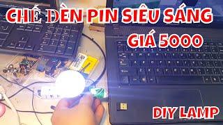 Chế Đèn Led Siêu Sáng GIÁ 5000 VNĐ Dùng Điện USB - SẠC DỰ PHÒNG
