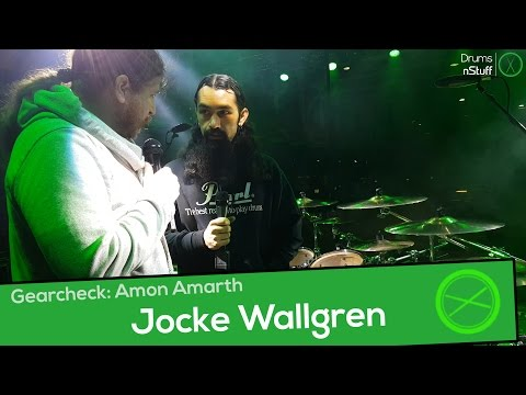 Music NStuff: Drum-Gearcheck Jocke Wallgren (Amon Amarth) Munich 11/19/16