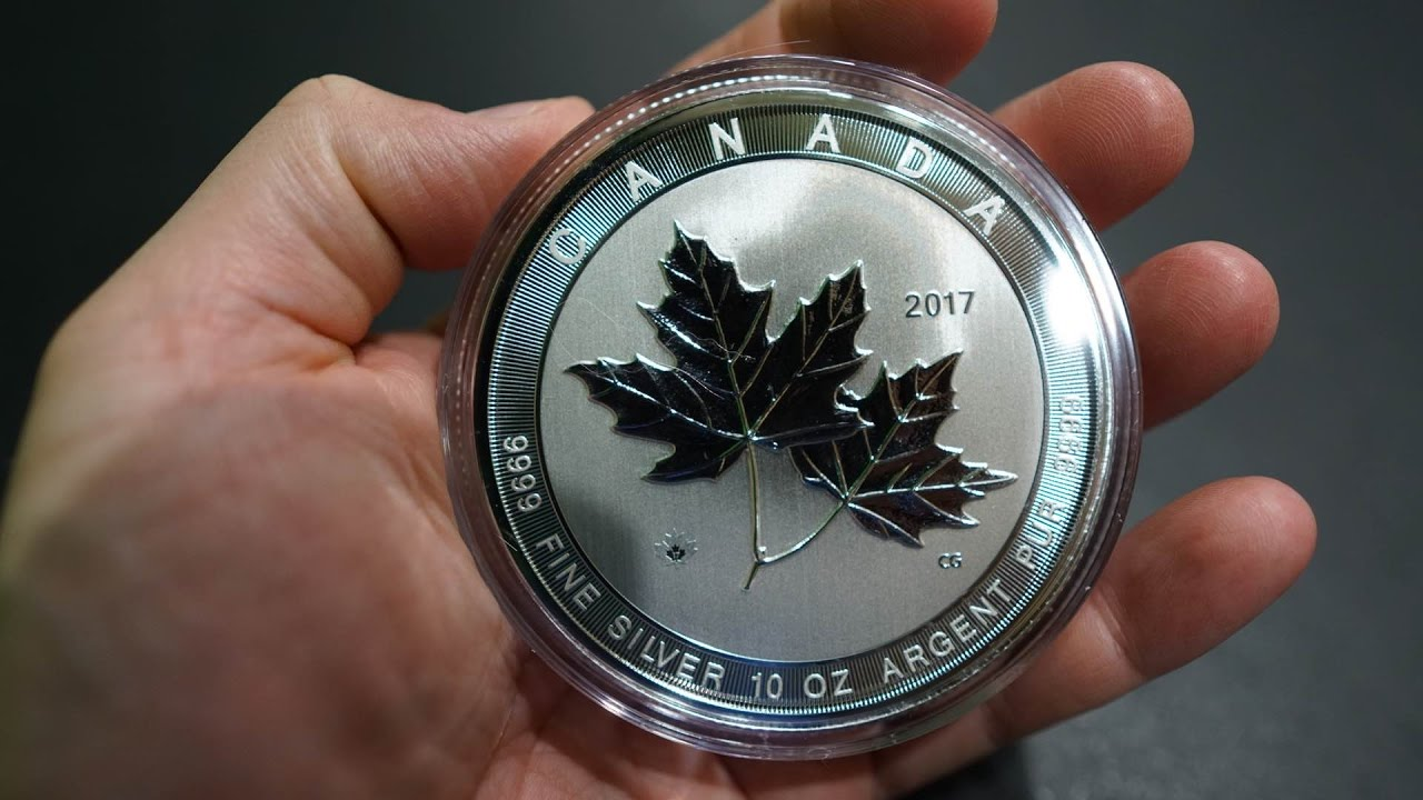 2017 10 Oz Silver Canadian Magnificent Maple Leaves Review