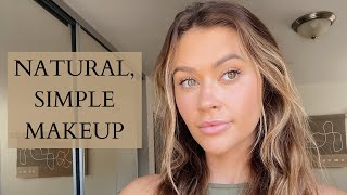 Quick, Easy, & Natural Everyday Makeup routine | GRWM | Caelynn Miller-Keyes