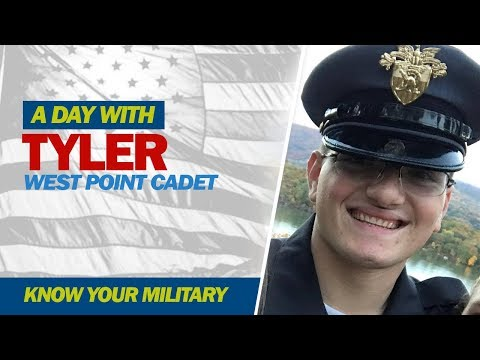 A Day with: Tyler, West Point Cadet