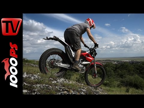 Montesa 4Ride 2016 - Testfahrt am Leithaberg