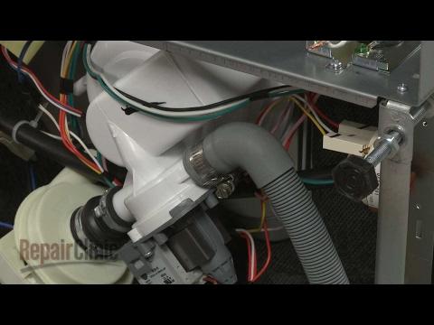 Drain Hose - Whirlpool Dishwasher Repair Model #WDF550SAFS