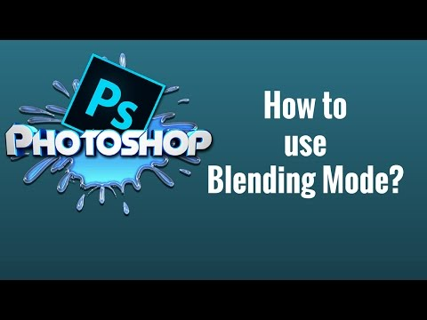 How to use Blending mode in Photoshop CC Tutorial