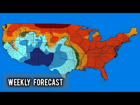Weekly US Forecast - January 3rd - 7th
