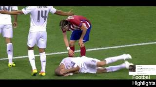 Pepe DIVE HIGHLIGHTS ◆ CL Final 2016 ◆ Real Madrid vs Atlético Madrid