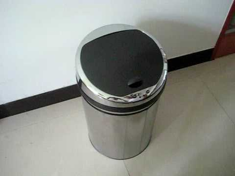 Automatic  Trash bin,infra-red trash can,auto sensor bin,motion sensor bin,comontrade.cn