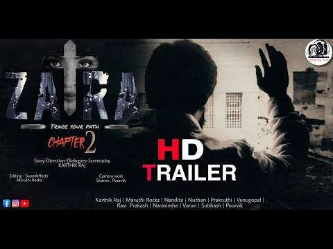 ZARA - Chapter 2   Official Trailer   Kannada short Film   Karthik Raj Studios   Kannada   2020