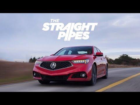 2018 Acura TLX V6 SH-AWD A Spec Review - SUPER HANDLING!