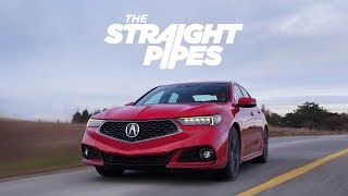 2018 Acura TLX V6 SH-AWD A Spec Review - SUPER HANDLING!