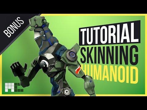 Humanoid Mech Tutorial - Bonus - Full Unedited Version (3ds Max CAT)