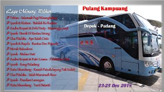 Download lagu Lagu Minang Pilihan | Pulang Kampuang Depok - Padang | Bus ANS Mercedes Benz | 2 Hari 2 Malam
