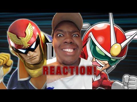 Captain Falcon vs Viewtiful Joe DBX Reaction!