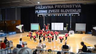 MOVE AROUND (mladinska formacija) - DP HIP HOP 2014 - Plesna šola Bolero - 1.mesto