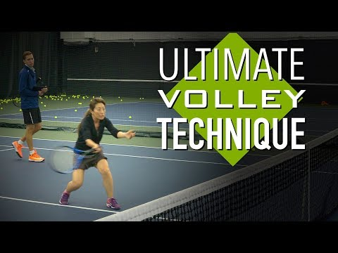 ULTIMATE Volley Tennis Lesson: Technique for CONTROL + Drills and Tips