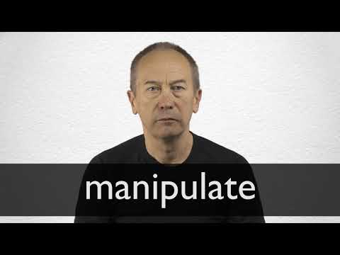Manipulate definition and meaning | Collins English Dictionary