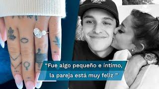 Un representante de la cantante de la estrella pop de 27 años confirmó que la artista contrajo matrimonio con su pareja, Dalton Gómez en la mansión de la cantante en Montecito, California